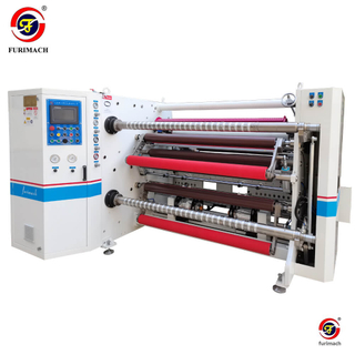 SLD-61241 Double-shaft Automatic Film Slitting Rewinding Machine