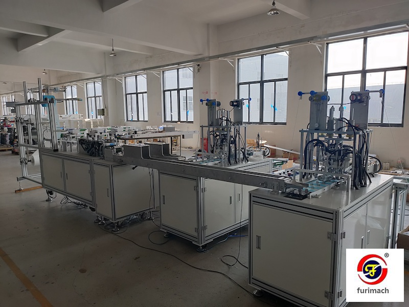 KZJ Automatic Disposable Face Mask Making Machine
